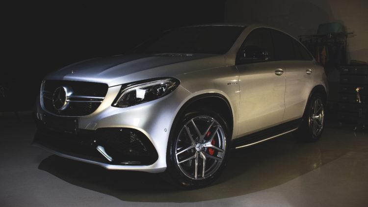 Keramická ochrana Mercedes